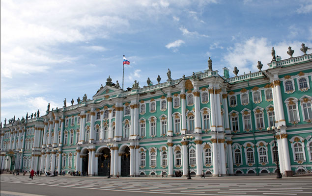 Hermitage with city tour and shopping for Tour hermitage