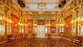 Catherine's Palace with sightseeing